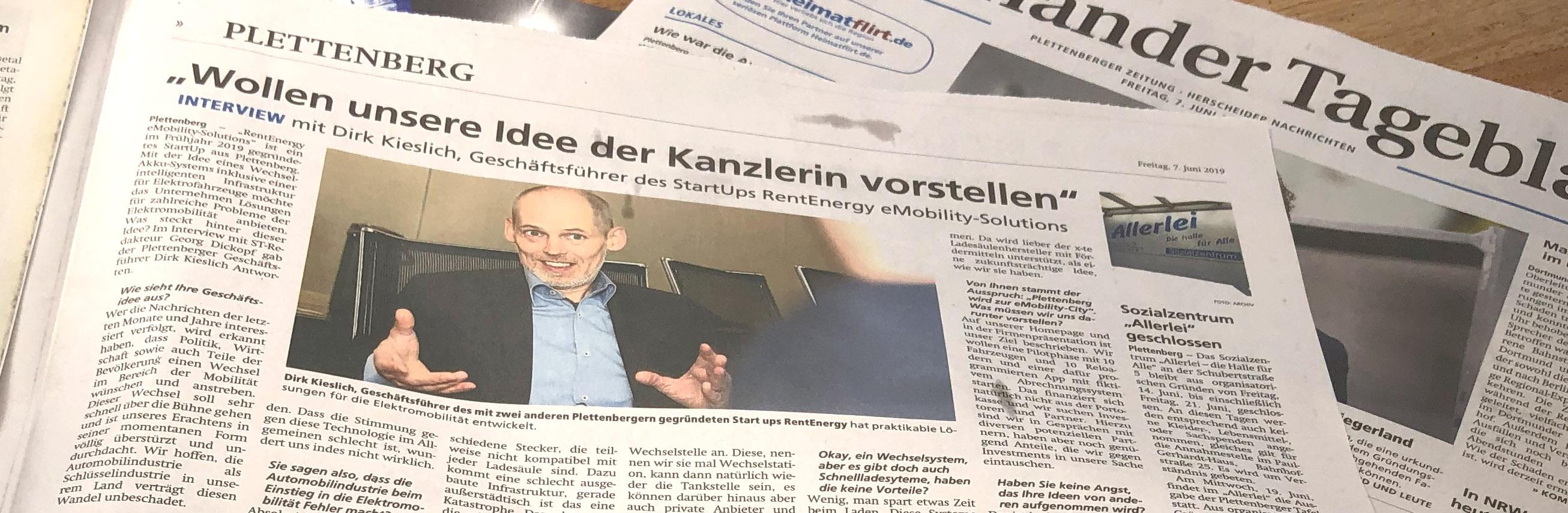 Das Süderländer Tageblatt berichtet über uns