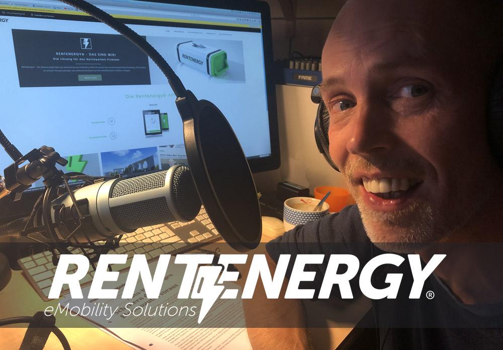 "Rentenergy – Der elektrische Podcast – Episode 02: ""Batterien, Recycling, Frau Merkel und Harald Lesch"""